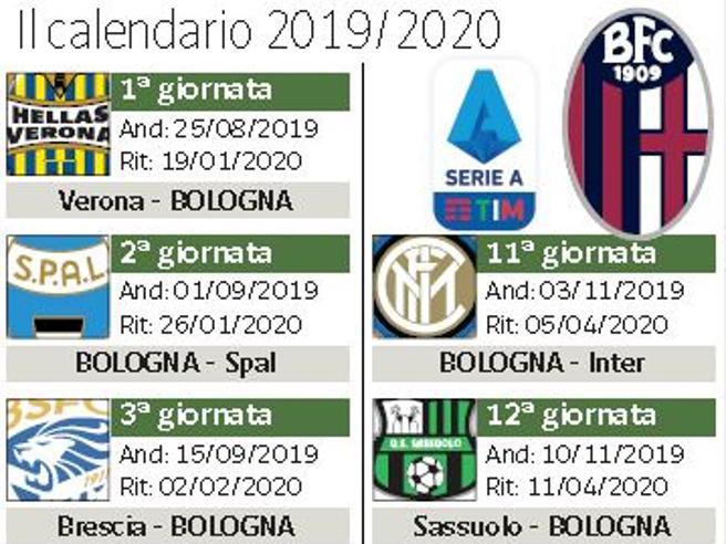 Hellas E Poi La Spal Il Bologna Sorride Al Calendario Della Prossima Stagione Corrieredibologna It